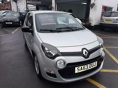 2013/63 RENAULT TWINGO 1.2 16v DYNAMIQUE IN SILVER+CLOTH SEATS LOW ROAD TAX