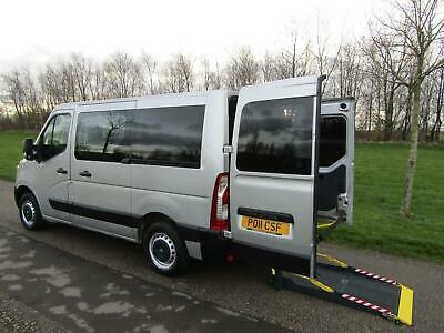 2011 Renault Master 2.3 Dci WHEELCHAIR ACCESSIBLE ADAPTED DISABLED VEHICLE WAV