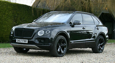 Bentley Bentayga 4.0 Diesel 429bhp 4X4 Auto Black. Very High Specification.