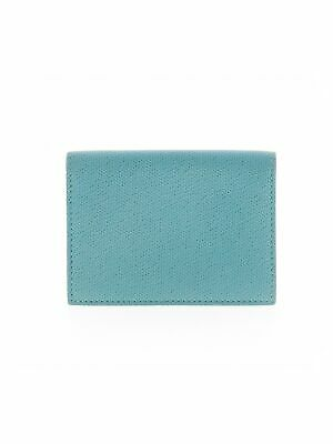 Tiffany & Co. Women Green Leather Card Holder One Size