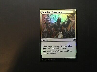 Foil NM-Mint 1x Swords to Plowshares English Iconic Masters MTG Magic