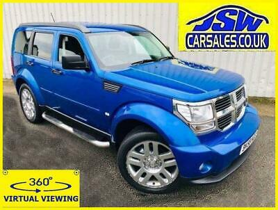 2008 Dodge Nitro 2.8 CRD AUTO SXT - Only 58K ! S/History. Full Leather.