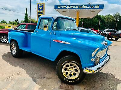 1955 Chevrolet 3100 Side Step Pickup - American. Chevy. Lhd. 5.7 Hemi. V8. Auto