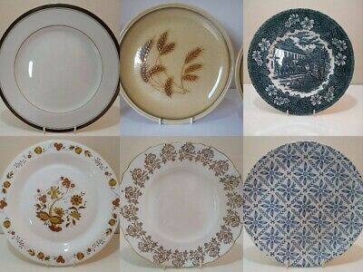 Vintage China Dinner Plates Spare/Replacement/Extra Table Set Dinner Ware Choose