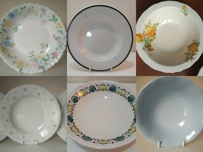 Vintage China Bowls Spare/Replacement/Extras Table Set Dinner Ware Choose