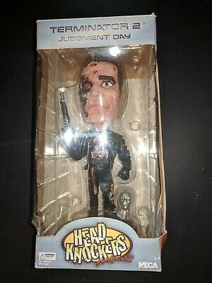 NECA Head Knocker Terminator 2 Judgement Day Bobble Head (rare) read description