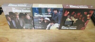 Rolling Stones Lot Of 3 New Sealed Dsd Ltd Edition Cd Box Sets Singles 1963-1971