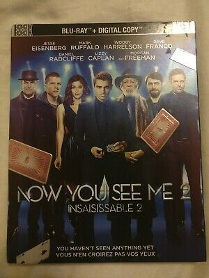Now You See Me 2 (Blu-ray, Bilingual, Slipcover)