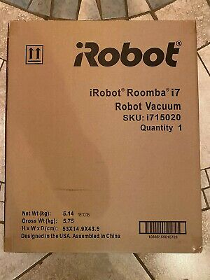 New Irobot Roomba I7 Wi Fi Connected Robot Vacuum No Box 415 81 Picclick Uk