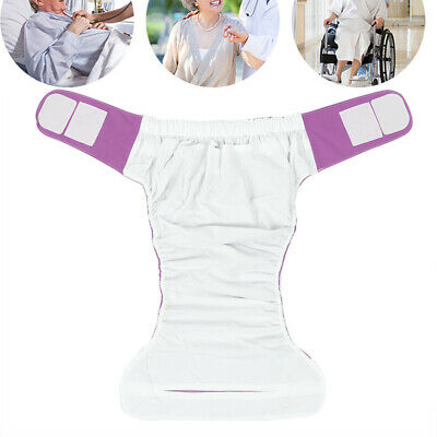 Teen/Adult Adjustable Washable Reusable Cloth Diaper Pocket Nappy Cover Wrap