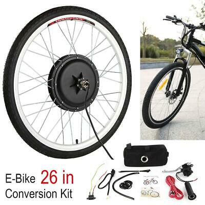 Rear / Front 36V 500W Electric Bicycle Motor E-Bike Conversion Kit 26 in Cycling