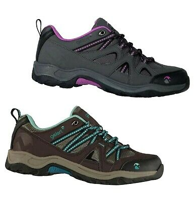 Ladies Gelert Outdoor Cushioned Ottawa Low Walking Shoes Sizes from 3 to 8