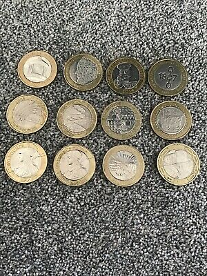 5 x £2 pound coins collection job lot all different circulated condition