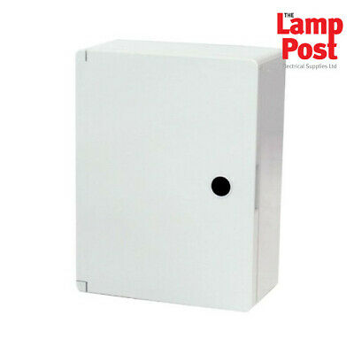 Termination Technology IP65 Grey Hinged Door Watertight Box - Choose Your Size
