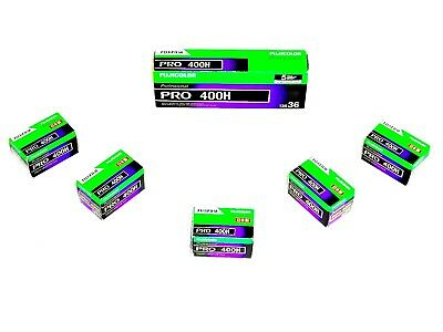 3 x Rolls FUJI  PRO 400H  COLOUR NEG--35mm/36 exps--ULTRA FRESH--expiry: 08/2021