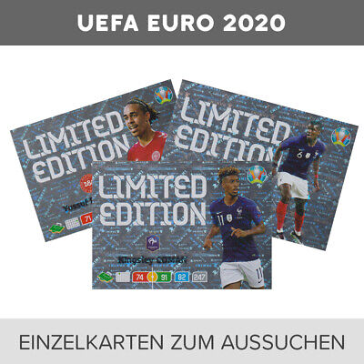 Panini UEFA EURO EM 2020 Adrenalyn XL Limited Edition Cards zum aussuchen