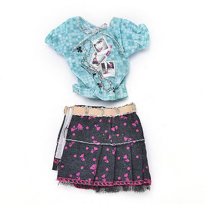 2017 Fashion Handmade Party Dresses Clothes For doll Noble Doll Best GiftsPLU