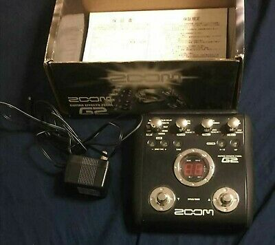 Used G2 Zoom multieffector GUITAR  EFFECTS  PEDAL F/S from Japan