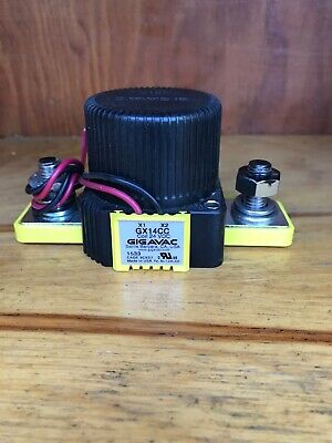 Gigavac GX21CAB Contactor Hermetically Sealed 24VDC Coil 150 Amp