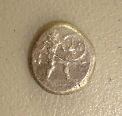 5th Century BC Pamphylia, Aspendus Ancient Greek Silver Stater VF Test Cut