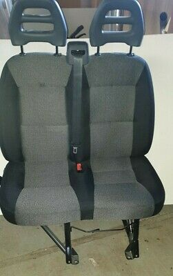 Relay Motorhome Boxer Fiat Ducato Twin Cab Seat