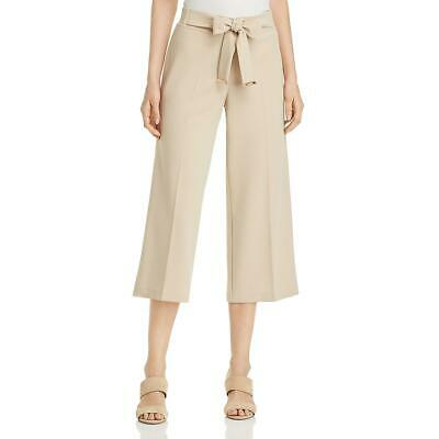 Calvin Klein Womens Wide Leg High Rise Cropped Dress Pants BHFO 4170