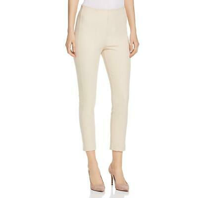 Elie Tahari Womens Jessalyn Beige High Rise Cropped Skinny Pants S BHFO 4913