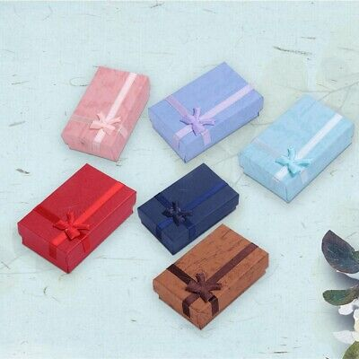 12x High Quality Jewellery Gift Boxes Necklace Bracelet Bangle Earring Box  Set