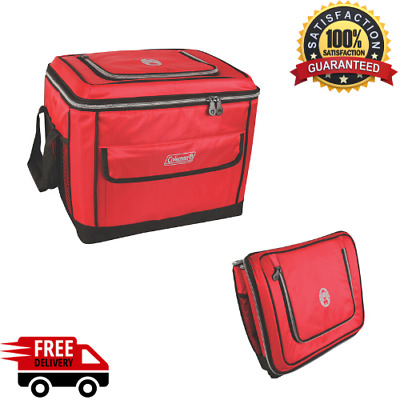 New Collapsible 40 Can Cooler coleman 2000013739 40 cans Red