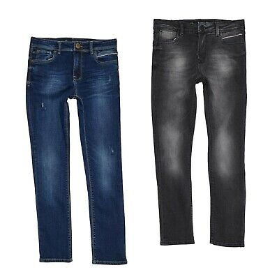 Boys Ripstop Skinny Fit Classic Stylish Casual Jeans Sizes Age from 5 to 14 Yrs