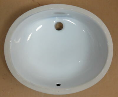 Kohler K-2210-0 Caxton Under Counter Mount Bathroom Sink White Oval Basin NEW