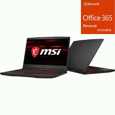 MSI GF65 THIN 9SEXR-249 15.6  Gaming Notebook - 1920 x 1080  + Office 365 Bundle