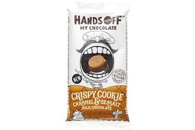 Hands Off My Chocolate (Crispy Cookie Caramel & Sea Salt) 100g