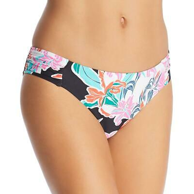 Trina Turk Womens Ibiza Printed Crochet Trim Swim Bottom Separates BHFO 5722