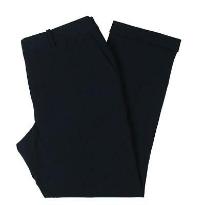 Tahari ASL Womens Navy Office Wear Dress Pants Trousers 10 BHFO 7611