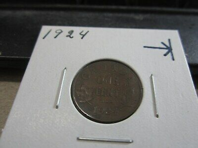 1924 - Canada 1 cent - Canadian penny - circulated coin