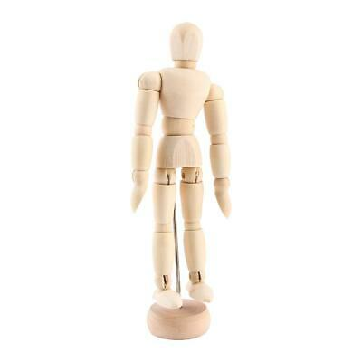 8''Art Class Wooden Figure Male Manikin Mannequin Movable Model Display Crafts