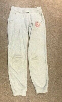 Girls Grey Joggers WIth Side Pockets Age 10-11 Yrs