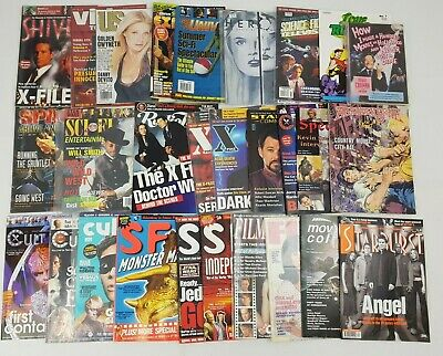 Film TV Movie Magazine Bundle Joblot Sci Fi Review Cult X Files Times SFX