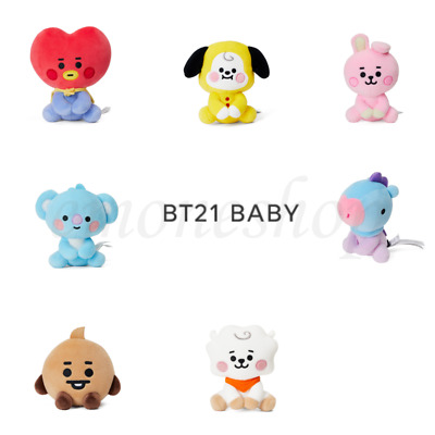 BTS BT21 BABY MINI SITTING PLUSH DOLL 12cm 4.7inch Authentic Goods +Tracking No.