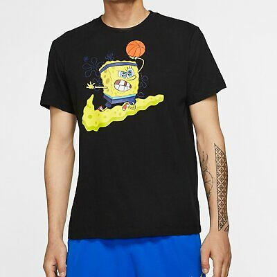 Nike Kyrie x Spongebob Square Pants DRI-FIT Tee CD0947-010 sz S-2XL