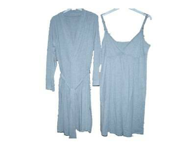 Ladies Maternity Chemise and Robe Set