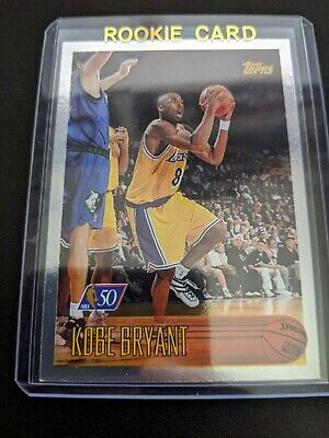 1996-97 Kobe Bryant RC Rookie Card Topps #138 And/or Foil 50th Anniversary