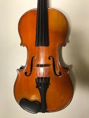 Very good sounding French 3/4 violin Mansuy c1910,Trade-in quarantee, video!