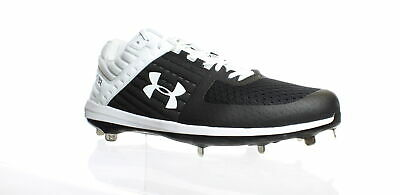 Under Armour Mens Yard Low Metal Baseball Cleats Red /& White Size 15