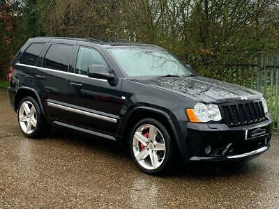 2010 10 Jeep Grand Cherokee 6.1 Srt8 5D 420 Bhp
