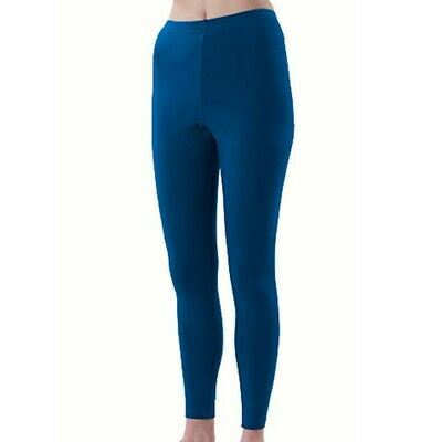 Pizzazz Girls Navy Blue Sport Cheer Dance Tights Ankle Length 6-14