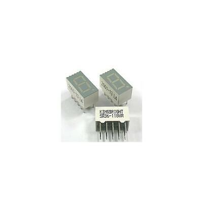 [10pcs] SA36-11GWA LED GREEN 7-SEGMENT KINGBRIGHT