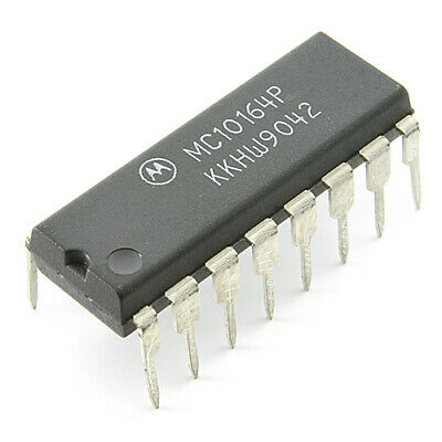 [2pcs] MC10164P IC Multiplexer DIP16 MOTOROLA