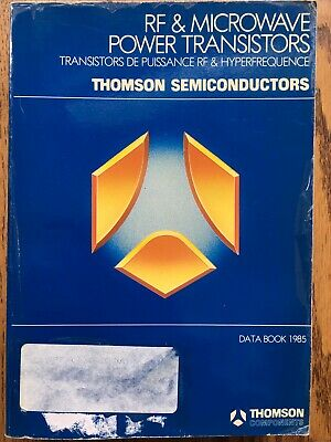 RF and Microwave Power Transistor Databook by Thomson Semiconductors
